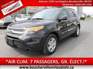 2012 Ford Explorer *7 PASSAGERS, 6CYL, 3,5L*