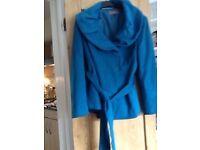 M&S Portfolio blue jacket, size 16