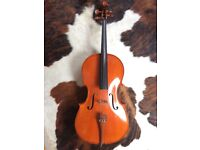 3/4 Size Cello with hard case.