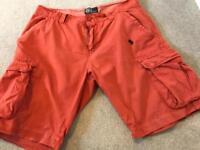 Men's Ralph Lauren shorts size 32-34 faulty zip