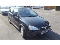 Vauxhall Corsa black 5dr 1.4 SXI+ Twin port ONLY 90K FSH, MOT, Leathers, Fog Lights, good condition