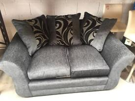 Set of 3 seater and 2 seater sofas. (New )