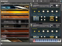 KONTAKT INSTRUMENTS PC--MAC