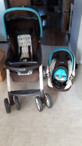Matching stroller and carseat $75.00