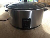 Slow cooker - Morphy Richards 6Litre