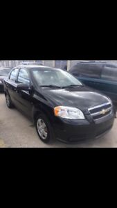 2009 Chevy Aveo ($4,500 and willing to trade)