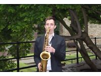 Saxophone/winds tutor. Learn Jazz, pop, funk, improv and much more with an experienced pro musician!