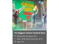 The BIGGEST FATTEST FOOTBALL QUIZ
