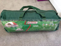 Coleman Sundome 3-men camping tent - as new, used twice for 1 night - Perfect for festival