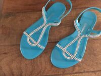 Ladies Kaleidoscope Beach Sandals