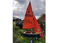 22263 mirror dinghy for sale