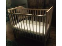 Saplings Space Saver Cot including mattress