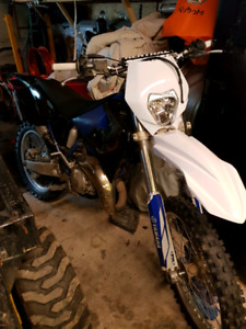 1999 yz125 blue plated . road legal