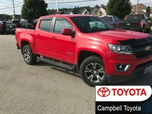 2016 Chevrolet Colorado Z71 CREW CAB--4X4--LOW KM'S--MINT