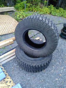 """2 Used 15"""" tires"""