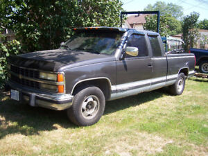 as is only and private great farm truck use 1995  chevpu