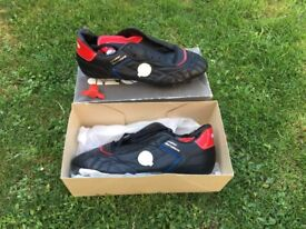 1986 football boots. New in box (21 pairs in total)