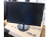 """ASUS Full HD LED Display 21.5"""" Black on stand with tilt/rotate - original packaging Cost £119.99 #2"""