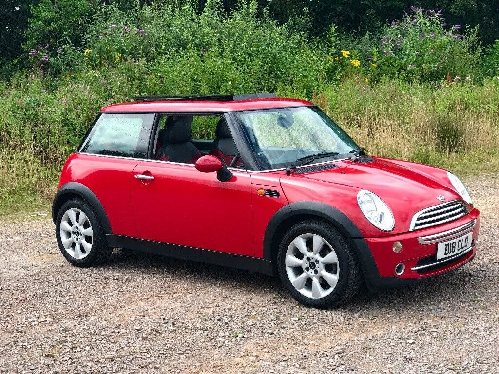 beautiful condition chilli red mini cooper in caerphilly gumtree. Black Bedroom Furniture Sets. Home Design Ideas