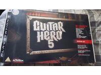 Guitar Hero 5 (With Guitar)
