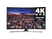 "Samsung 55"" curved 4k LED TV wi-fi"
