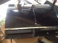 GREAT CONDITION PS3 FOR SALE/3 GAMES /MEMORY CARD /CONTROLLER