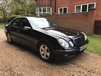 Mercedes E280 CDI Avantgarde Auto,2006, Black, 55 Plate, Full Service History,