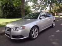 2007 Audi A4 1.8 T S Line Quattro 4dr_Low Mileage_Silver_Saloon_TOP OF THE RANGE