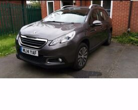 2014 Peugeot 2008 Active E-hdi 92, 1560CC Diesel, 5DR, Semi Automatic (2014)