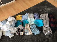 Bundle of boys clothes 18-24 months