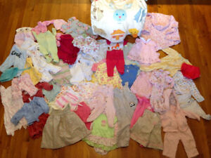 Plenty of baby cloth and all what you need for newborn