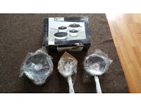 4 Piece Brand new non stick pan set