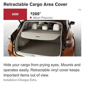 Cargo Cover - Retractable For 2015 - 2018 Nissan Murano