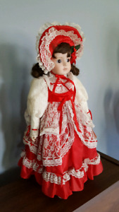 Collectable Gorham Christmas doll
