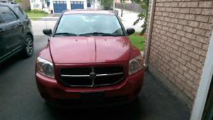 2007 dodge caliber as is  and best offer