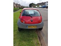 Ford Ka - 03 Plate, 52k miles 10 months MOT perfect first car!