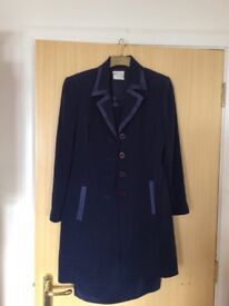 Frank Usher navy suit size 14