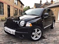 Jeep Compass 2.0 CRD Limited Station Wagon 4x4 5dr**FULL S/H**6 MONTHS WARRANTY 2008 (57 reg), SUV