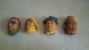 Bossons heads excellent condition