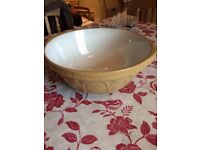 Large vintage mixing bowl T G Green/Church Gresley Potteries
