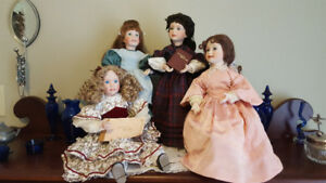Little Women Porcelain Dolls