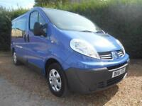 2011 61 RENAULT TRAFIC 2.0DCI 115BHP 6 SPEED 9 SEATS VERY VERY CLEAN BUS 86000