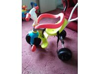 Smoby baby toddler bike nearly new
