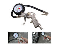 New Car Van Tyre Pressure Guage Meter Air Inflator Dial Compressor Checker Tool