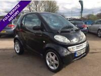 2002 SMART CITY PULSE SEMI- AUTOMATIC 0.6 (RHD) 2DR