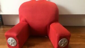 Pillow/chair with built in speakers