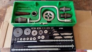 Old plumbing globe & angle valve tool set