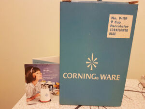 Pyrex coffee maker box and pamphlet only