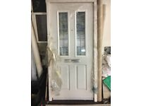Heavy external doors brand new
