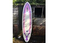 NSP 6'8 mini mal surfboard